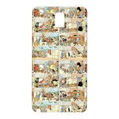 Old comic strip Samsung Galaxy Note 3 N9005 Hardshell Back Case