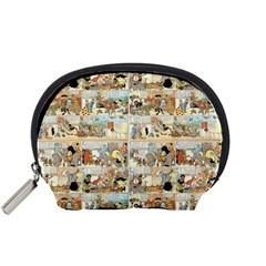 Old comic strip Accessory Pouches (Small)