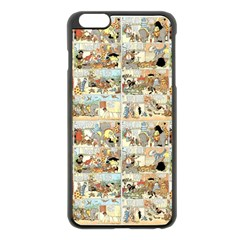 Old comic strip Apple iPhone 6 Plus/6S Plus Black Enamel Case