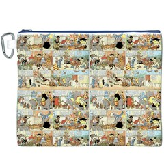 Old comic strip Canvas Cosmetic Bag (XXXL)