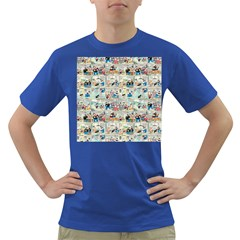 Old comic strip Dark T-Shirt