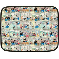 Old comic strip Double Sided Fleece Blanket (Mini)