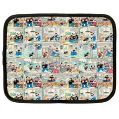 Old comic strip Netbook Case (XXL)
