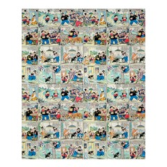 Old Comic Strip Shower Curtain 60  X 72  (medium)