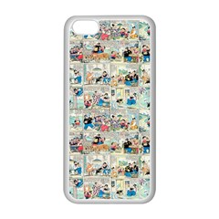 Old comic strip Apple iPhone 5C Seamless Case (White)