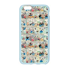 Old comic strip Apple Seamless iPhone 6/6S Case (Color)