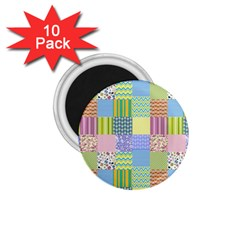 Old Quilt 1.75  Magnets (10 pack)