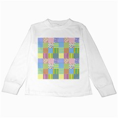 Old Quilt Kids Long Sleeve T-Shirts