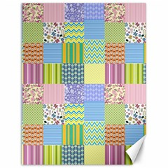 Old Quilt Canvas 12  x 16