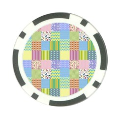 Old Quilt Poker Chip Card Guard (10 pack)