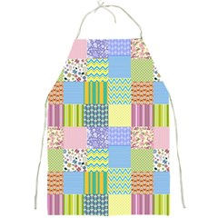 Old Quilt Full Print Aprons