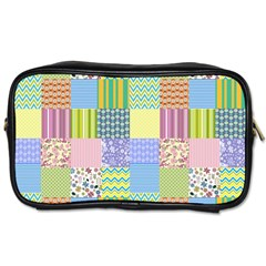 Old Quilt Toiletries Bags
