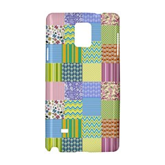 Old Quilt Samsung Galaxy Note 4 Hardshell Case