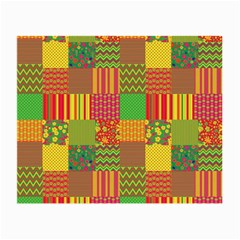 Old Quilt Small Glasses Cloth (2-Side)