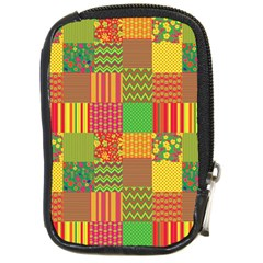 Old Quilt Compact Camera Cases