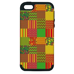 Old Quilt Apple iPhone 5 Hardshell Case (PC+Silicone)