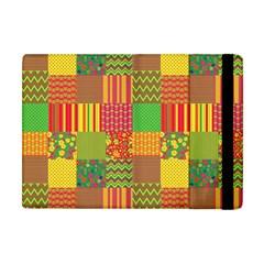 Old Quilt Apple iPad Mini Flip Case