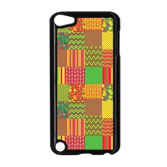 Old Quilt Apple iPod Touch 5 Case (Black)