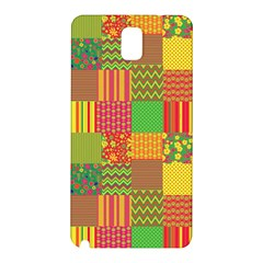 Old Quilt Samsung Galaxy Note 3 N9005 Hardshell Back Case