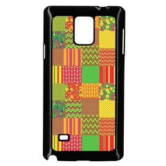 Old Quilt Samsung Galaxy Note 4 Case (Black)