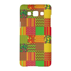 Old Quilt Samsung Galaxy A5 Hardshell Case