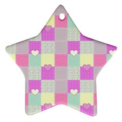 Old Quilt Ornament (Star)