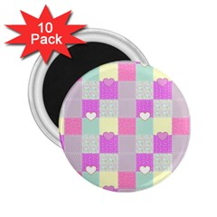 Old Quilt 2.25  Magnets (10 pack)