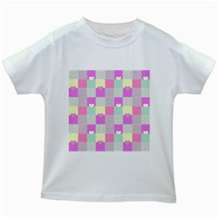 Old Quilt Kids White T-Shirts
