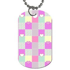 Old Quilt Dog Tag (One Side)