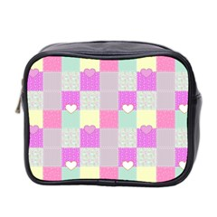 Old Quilt Mini Toiletries Bag 2-Side