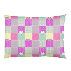 Old Quilt Pillow Case (Two Sides)