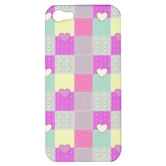 Old Quilt Apple iPhone 5 Hardshell Case