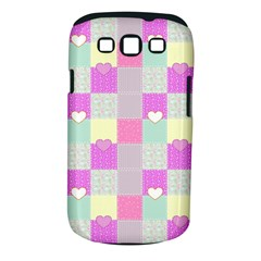 Old Quilt Samsung Galaxy S III Classic Hardshell Case (PC+Silicone)