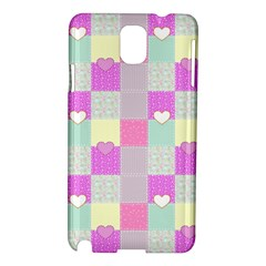 Old Quilt Samsung Galaxy Note 3 N9005 Hardshell Case