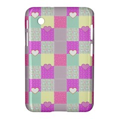 Old Quilt Samsung Galaxy Tab 2 (7 ) P3100 Hardshell Case