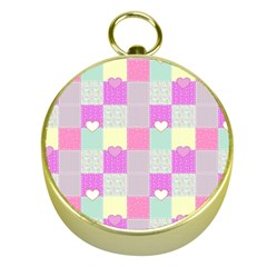 Old Quilt Gold Compasses