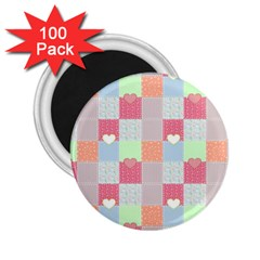 Patchwork 2.25  Magnets (100 pack)