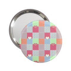 Patchwork 2.25  Handbag Mirrors