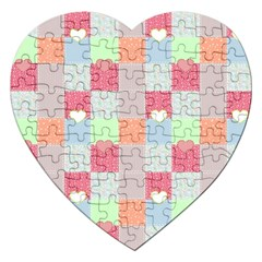 Patchwork Jigsaw Puzzle (Heart)