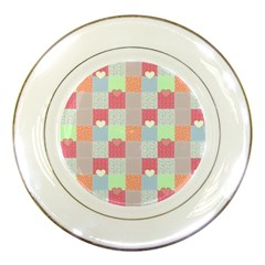 Patchwork Porcelain Plates