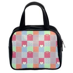 Patchwork Classic Handbags (2 Sides)