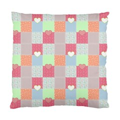 Patchwork Standard Cushion Case (Two Sides)