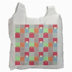 Patchwork Recycle Bag (Two Side)