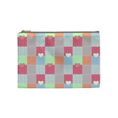 Patchwork Cosmetic Bag (Medium)
