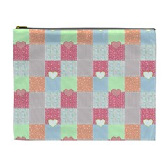 Patchwork Cosmetic Bag (XL)