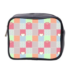 Patchwork Mini Toiletries Bag 2-Side