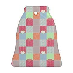 Patchwork Bell Ornament (Two Sides)