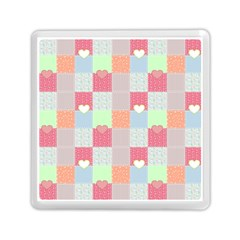 Patchwork Memory Card Reader (Square)