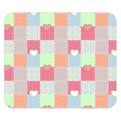 Patchwork Double Sided Flano Blanket (Small)