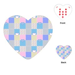 Patchwork Playing Cards (Heart)